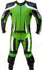 MEN LEATHER SUIT MOTORBIKE LEATHER SUIT MOTORCYCLE LEATHER JACKET PANT-1/2 Piece