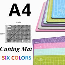 A4 Hobby&Craft Cutting Mat 300mm*220mm 1cm Square Grid Line For Fast Cutting XY