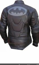 BATMEN JACKET MOTORBIKE/MOTORCYCLE JACKET RACING BIKER JACKET MEN LEATHER JACKET