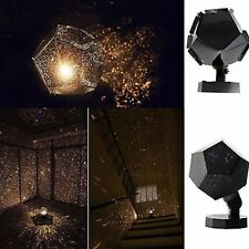 Romatic Cosmos Moon Star Master LED Starry Night Sky Light Lamp For Baby Kids UQ
