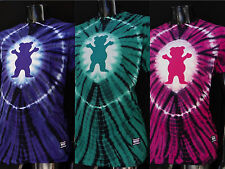 New Grizzly Griptape Skateboard Co. Og Bear Tie Dye Mens Sport T shirt