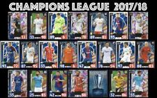 2017 2018 Topps Match Attax UEFA Champions League LIMITED EDITION Gold Silver ..