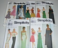 Ladies Evening or Casual Dresses Simplicity Sewing Patterns Select a pattern UCT