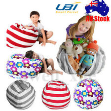 Bean Shape Bag Indoor Outdoor Sofa Seat Chair Bed Toy Storage Clothes Organizer