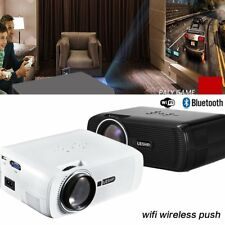 NEW WiFi LED LCD Home Cinema Projector TV Movie HDMI USB VGA Full HD 1080P SNW