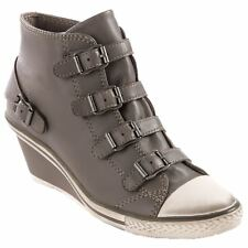 Ash Genial Perkish Womens Leather Wedge Sneakers Trainers