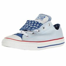 Converse Chuck Taylor All Star Double Porpoise Kids Canvas Casual Trainers