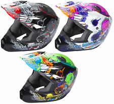 Fly Racing Youth Kinetic Invazion Dirt Bike Helmet MX ATV Offroad Off-Road 2018