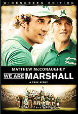 We Are Marshall (DVD, 2007, Widescreen)