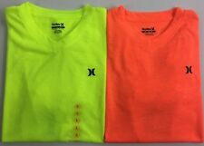 Boy's Youth Hurley V-Neck Neon T-Shirt