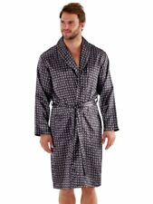 Men's PAISLEY Satin Dressing Gown Robes and Satin Pyjama Sets M - XXL