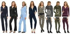 NWT Juicy Couture Tracksuit Women Velour Embellished Jacket Pants medium