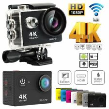 Full HD 4K 16MP Action Ultra Sport Camera Waterproof WiFi DV DVR Cam Camcorder