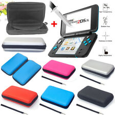 For Nintendo 2DS XL Travel EVA Carrying Bag Case +2DS XL HD Film Accessories