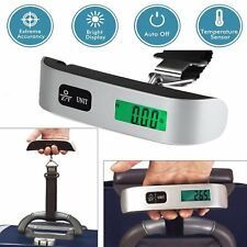 50kg/10g Portable Travel LCD Digital Hanging Luggage Scale Electronic Weight HY