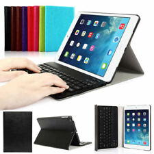 Wireless Bluetooth Keyboard With Slim Folding Leather Folio Case For iPad 2 3 4