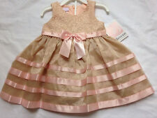 New Bonnie Baby Fancy Party or Pageant Dress Set Pick 18 or 24 Months NWT F/S