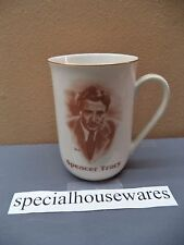Hollywood Hall of Fame Museum Mug: Tracy Lombard Gable Cooper Bogart, etc VGC