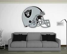 OAKLAND RAIDERS Helmet Wall Decal ~ Removable Vinyl STICKER - Graphics