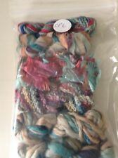 Creative Packs of Mixed Yarns perfect for embroidery weaving & felting etc.
