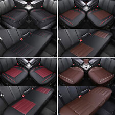 Universal Car Seat Cover 3D PU Leather Pad Mat Breathable for Auto Chair Cushion