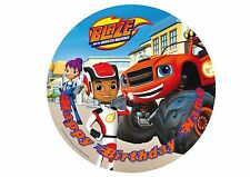 Blaze and the Monster Machines Rice / Wafer Paper or Icing Cake Topper 20cm #8