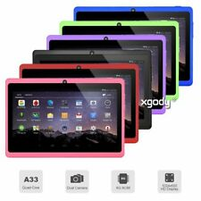 7 inch Android 4.4 A33 Quad Core Tablet PC 8GB WIFI Bluetooth HD Touch Screen US