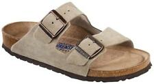 951303 - Birkenstock - Arizona Taupe Soft Footbed suede leather - Narrow