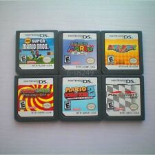 6PCS MARIO Game Card Child Children Gift For DS NDS DSI 3DS US Version