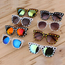 New Fashion Colorful Sunglasses Stars Thick Frame Colorful Film/Gray Lenses OA