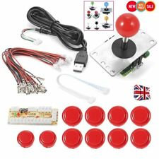 Arcade Joystick DIY Kit Zero Delay USB Controller PC Joystick & Push Buttons EL