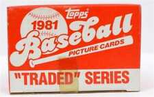 1981 Topps Traded Pick a Player