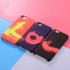 Heat Sensor Color Change Magic Back Case Cover For Apple iPhone 5S/6/6+/7/7+