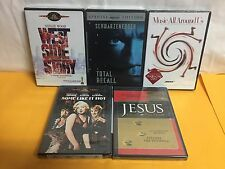 Lot of (5) Misc DVD Movies, Various well known Titles.