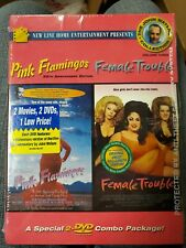John Waters Collection #3: Pink Flamingos/ Female Trouble - 2 DVD - NEW