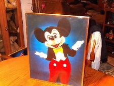 VINTAGE RARE MICKEY MOUSE FRAMED POSTER