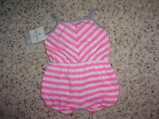 Carters Baby Girls One Piece  Size 3 and 6 Months NWT