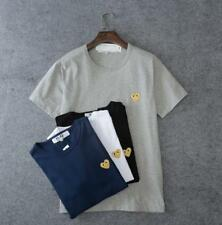 Men's Japan style CDG Tee Shirt Play Comme Des Garcons Cute Gold Heart T-shirts