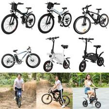 Ancheer 350W Folding Electric Mountain Bike Bicycle Ebike 36V Lithium Battery