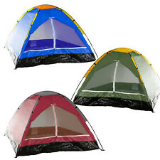 2 Person Camping Tent Waterproof Floor Hiking Travel Outdoor Made in USA