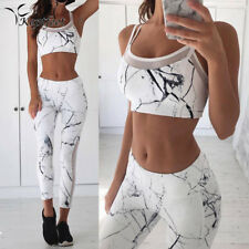 vest tank top leggings tracksuit clothing fitness white patchwork gym sportswear