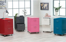 Two Drawer Solid Metal Storage File Cabinet Home Living Office Furniture Study