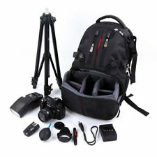 Camera Bag SLR DSLR Case Backpack Water-Resistant For Canon Sony Nikon FK