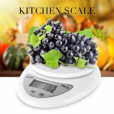 5kg/1g Digital Kitchen Food Scale Weight Balance Electronic Diet Postal Gram BVC