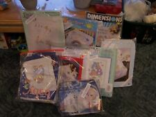 Stamped Cross Stitch Baby Infant Quilt Blanket Kits Your Choice