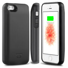 Battery Case iPhone SE/5S/5C/5 (Up to 2.5X Extra Battery)Built in USB Power Bank