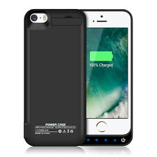 Apple Certified Ultra Slim Battery Case 240% Rechargeable for iPhone X 8 6 7 5C