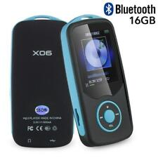 Mp4 Player 16GB Portable Bluetooth With FM Radio Voice Recorder Expandable