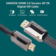 4K Ultra HD Premium HDMI Cable V2.0 3D High Speed Ethernet HEC ARC 1M / 2M / 4M