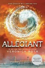 Allegiant Divergent Series Book 3 by Veronica Roth Novel Paperback NEW PB
